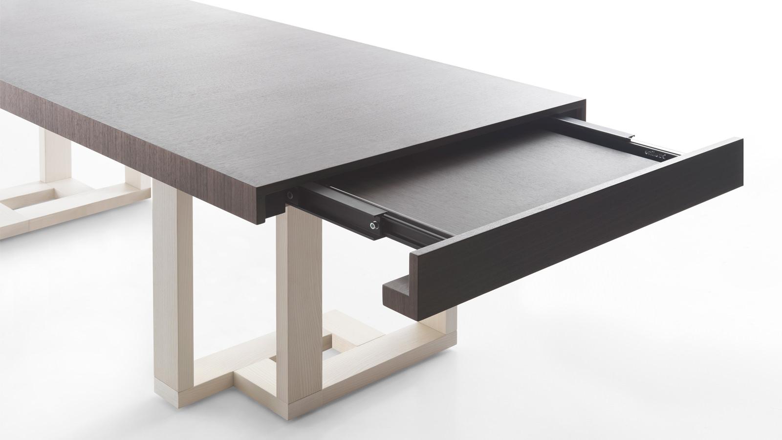 Tavoli allungabili e alzabili tavolo design rotondo allungabile con piano in vetro e basamento - Tavolo alzabile ikea ...